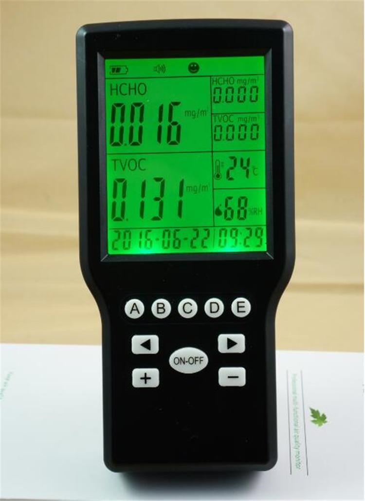 Portable Formaldehyde Tester TVOC Detector Gas Detector Meter Indoor Air Quality monitoring  цены