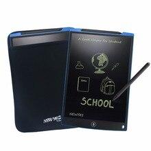 NEWYES 12 «Синий ЖК-цифровой блокнот для рисования блокнот для рукописного письма портативный электронный блокнот безбумажный блокнот с сумкой