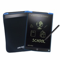 NEWYES 12 Blue LCD Writing Digital Drawing Tablets Handwriting Pads Portable Electronic Tablet Board Paperless Notepad