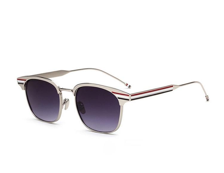2018 haute qualité luxe polarisé hommes lunettes de soleil métal pilote lunettes de soleil lunettes de soleil conduite hommes lunettes TB104