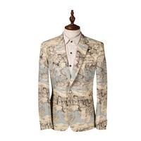 2016 New Mens Blazer Slim Custom Fit Tuxedo Brand Fashion Casual Business Dress Suits Blazer Terno