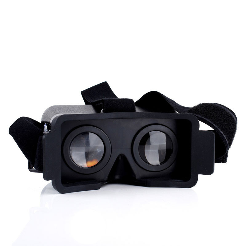 Head Mount Plastic Version 3D VR Virtual Reality Video Glasses For 4.7-6.3 inches  Smartphones Mobile phone Samsung Android IOS
