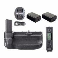 Meike MK-A6300 Pro 2 4G Drahtlose Steuerung Batterie Grip Für Sony A6300 A6400 + 2 * NP-FW50 batterien + dual ladegerät