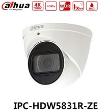 Dahua IPC-HDW5831R-ZE 4 K 8MP WDR камера видеонаблюдения IR сети Камера POE 2,7 ~ 12 мм Моторизованный объектив IP67 SD карты встроенным микрофоном без логотипа