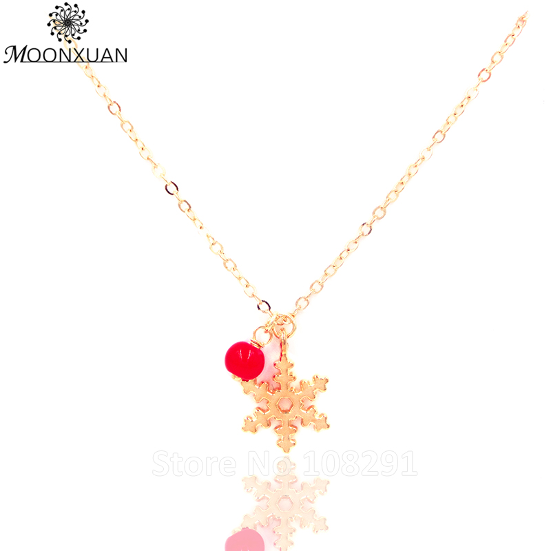 Aliexpress.com : Buy Snow Red Bead Christmas Gift Simple Silver ...