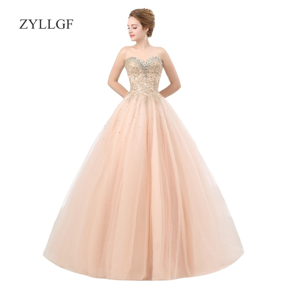 zyllgf robe mere de la mariee ball gown sweetheart crystal beaded robe de soiree grande taille