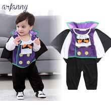 Baby Boy Clothes 2018 Autumn New Vampire Model Halloween Show Costume
