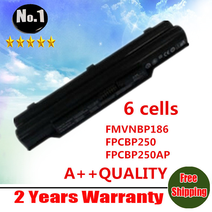 цены  wholesale New 6 cells laptop Battery For FUJITSU LifeBook A530 A531 AH530 AH531 BH531 LH520 FMVNBP186 FPCBP250 FPCBP250AP