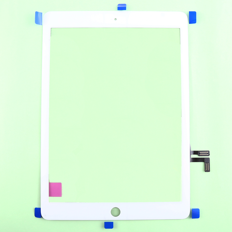 Brand New Original 100% tested  Touch Screen Digitizer Glass Lens Replacement For iPad air iPad 5 free shipping music clip staff page clip with music pattern