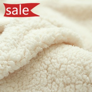 Free shipping 150 x 50cm Coral fleece fabric cloth DIY sweater inner lining clothing image