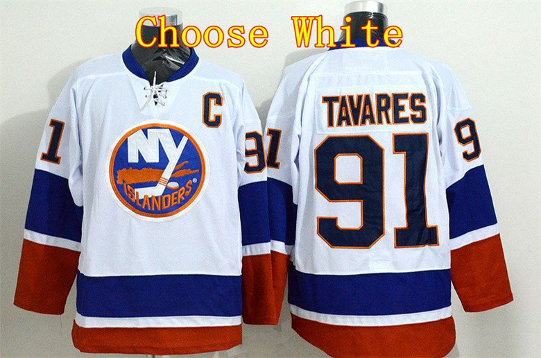 Quality Assurance New York Islanders Jerseys 91 John Tavares Jersey Blue  White Orange Gray Black Premier Alternate Stadium Serie-in Hockey Jerseys  from ... 2f4ccbecc