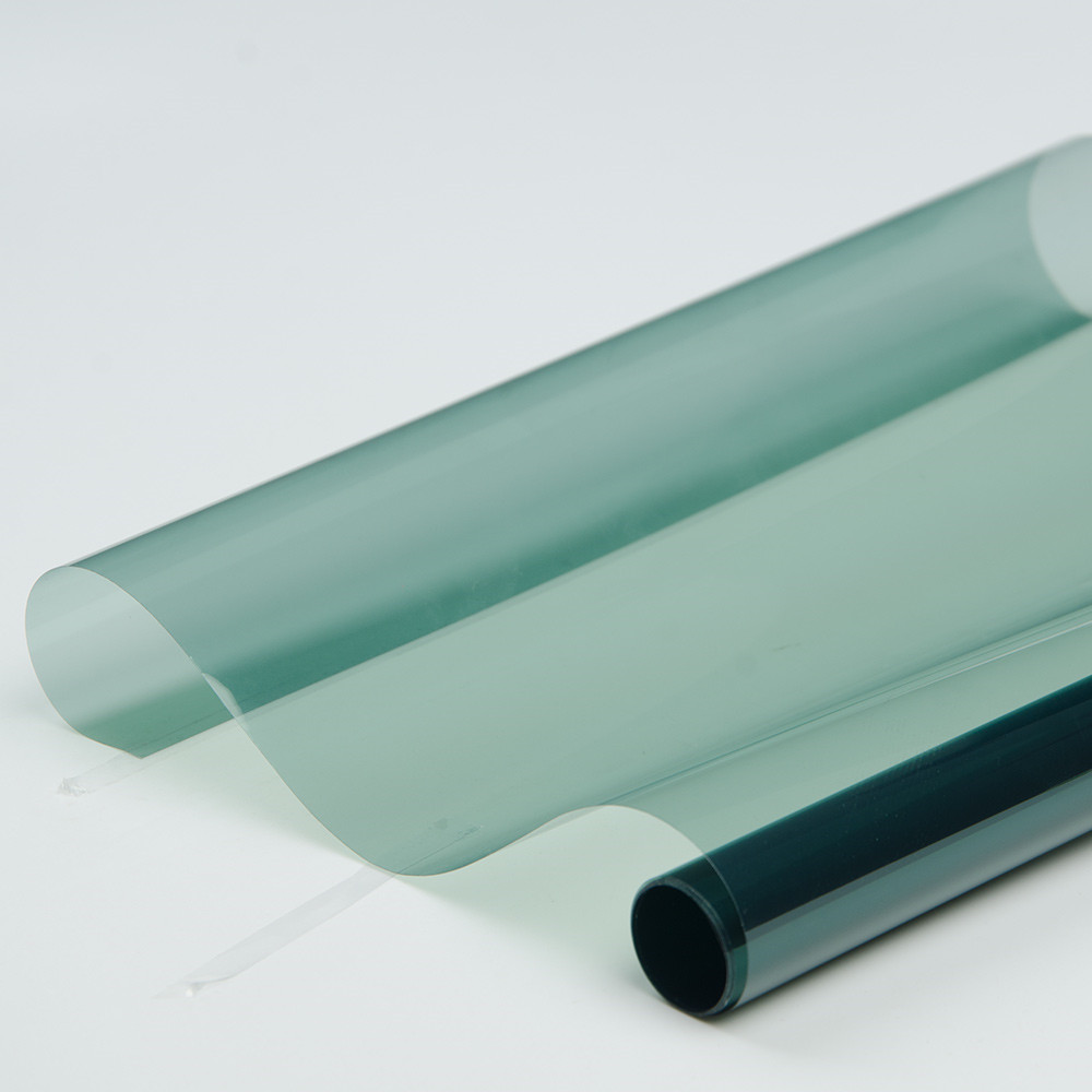 Light Blue Car Front Window Tint Film Glass VLT 65% Car Auto House Protection Summer 60''x40''