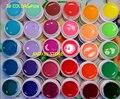 30 Color SOLID PURE UV GEL Builder NAIL ART Polish KIT Set Tips Kit Acrylic