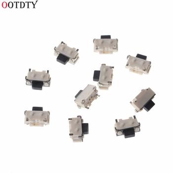 10 sztuk 1 zestaw boczny dotykowy Push Button Micro SMD SMT przełączniki taktowe 2x4x3 5mm przełączniki akcesoria tanie i dobre opinie OOTDTY Tact Switch Z tworzywa sztucznego other Przełącznik Wciskany