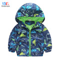 Kindstraum 2017 New Spring Boys Dinasour Coats Brand Children Cartoon Jackets Autumn Hooded Wear for Kids,RC1131