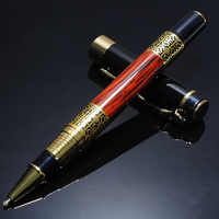 High Quality Luxury Metal Ballpoint Pen Sculpture Pattern Roller Pen Office School Stationary Pen