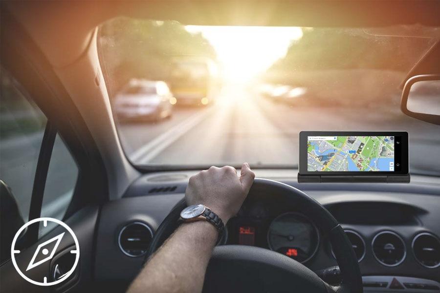 "6.86"" inch 4G ADAS Car DVR Dash Cam Mirror GPS Bluetooth WIFI Android 5.0 Dual Lens FHD 1080p Video Recorder Camera 8"