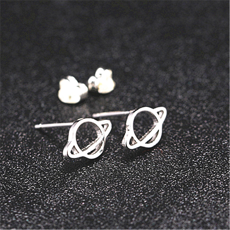 2019 Small exquisite Hollow planet earrings Cute antler earrings trend ladies jewelry Girl birthday present