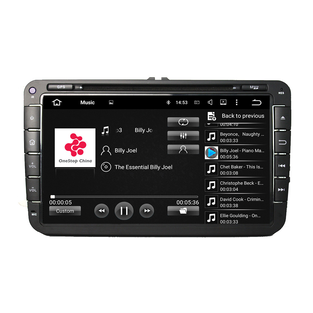 8″ Android 6.0 Octa-core Car Multimedia Player For VW Magotan Caddy 2006-2012 GPS Navigation Car Video Audio Stereo Free MAP