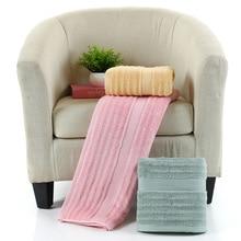 Pure bamboo fiber newborn baby baby cartoon face hand bath towel 140 * 70cm towel bath towel