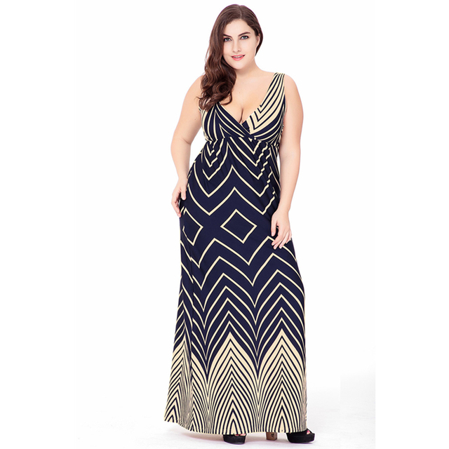 Plus Size L 6xl Womens Dress Girl Summer Sexy Large Size Tall Woman