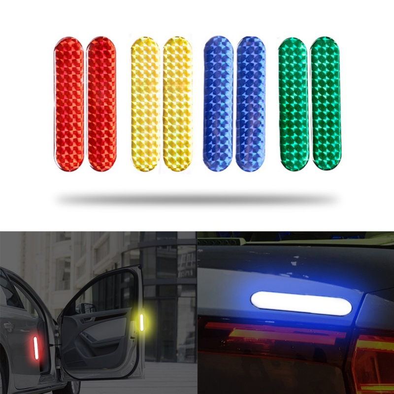 Car Reflective Stick Epoxy For Reflective Warning Sticker Door Anti collision Sticker Reflective Sticker New-in Reflective Strips from Automobiles & Motorcycles
