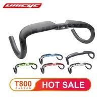 ULLICYC Road bicycle racing Matte/Gloss full carbon handlebar internal cable carbon bike handlebar 31.8*400/420/440mm WB240