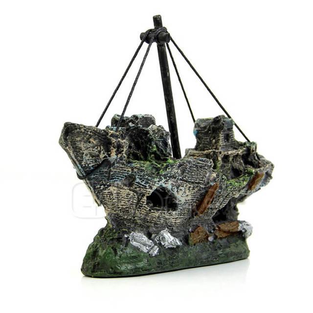 Shipwreck Aquarium Ornament 4