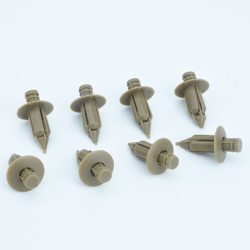 xiaobaishu 50Pcs Plastic Rivet Trim Panel Fastener Clips Door Beige For VOLVO C70 S60 S80 V70 39964090 in Auto Fastener Clip from Automobiles Motorcycles