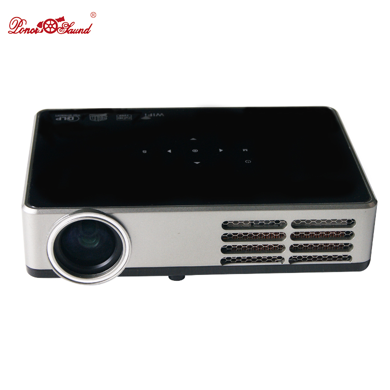 Poner Saund Full Hd New Mini Projector Proyector Led Lcd: Poner Saund Full HD Mini Projector Projecteur LED LCD 3D
