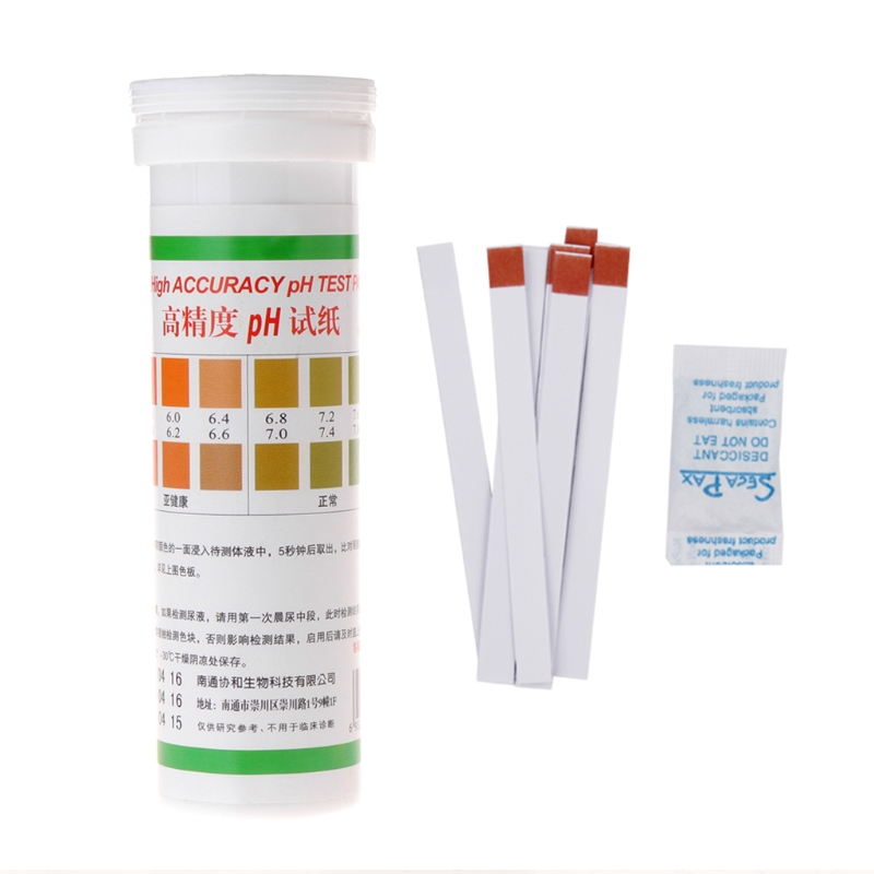 High Accuracy Ph Test Paper Saliva Strips Water Testing