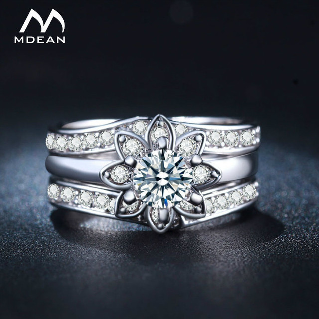 white rings item thin gold marquise engagement ring cut wedding moissanite aliexpress halo women band diamond