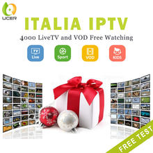 ucer iptv italy 1 year subscription list code support android enigma2 m3u smart tv mag for europe albania spain portugal germany(China)
