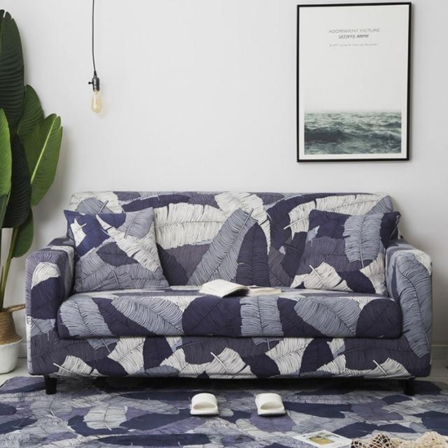 Fundas elásticas para sofá de 24 colores, fundas para sofá de cuatro estaciones, Fundas protectoras para sofá de poliéster, fundas para sofá, toallas para sofá de 1/2/3/4 plazas