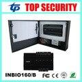ZK controle de acesso porta inbio160 painel placa de controle de acesso de impressão digital e RFID sistema com a função da bateria fonte de alimentação