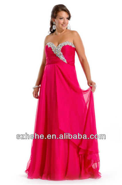 Tt166 Lace Up Beaded Plus Size Sexy Girls Puffy Dresses In Prom