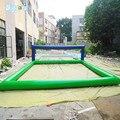 Opblaasbare Volley Bal Net Opblaasbare Strand Volleybal Hof