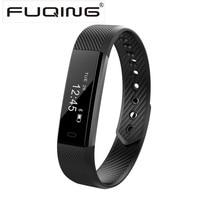 FUQING ID115 Smart Bracelet Fitness Tracker Alarm Clock Step Counter Smart Wristband Band Sport Watch Sleep