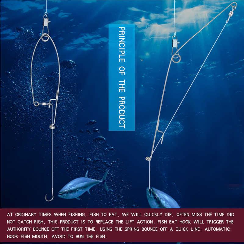 Memimpin Hook. Hook Memancing. Otomatis Semi Memancing Kait Kecepatan Orang Malas Instan Hookake Ocean Sea Surf