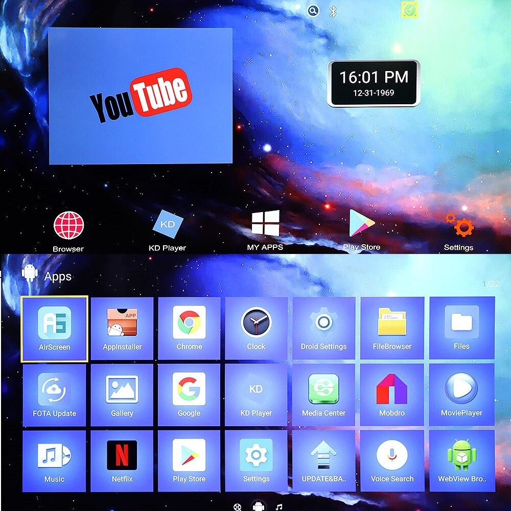 X96s Smart 4 K Android 8.1 TV Box Amlogic S905Y2 DDR4 4 GB 32 GB X96 Mini PC TV Stick 5G WiFi Bluetooth 4.2 TV Dongle lecteur multimédia - 6