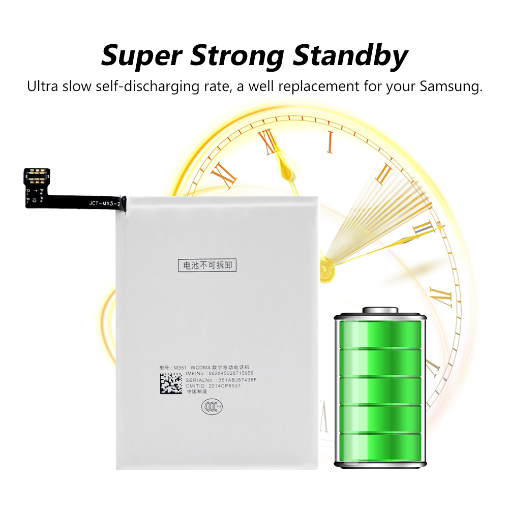Rechargeable B030 Lithium-ion Battery 3 8V 2400mAh Phone Battery With  Repair Tools For Meizu MX3(MX 3) M055 M351 M353 M355 M356