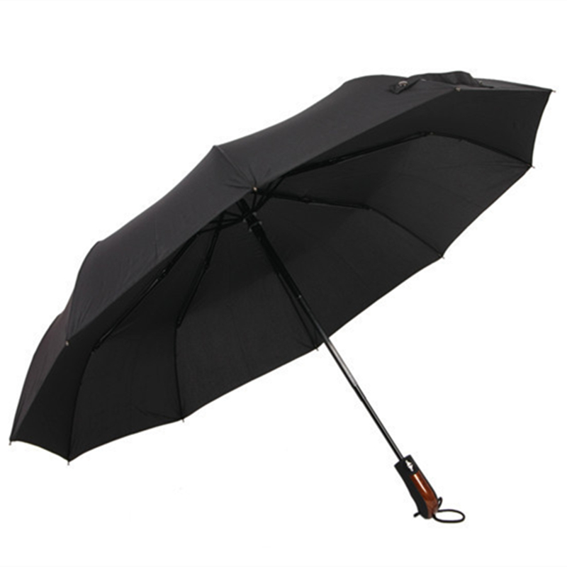 Wind Resistant Folding Automatic Umbrella Rain Women Auto Luxury Big  Windproof Umbrellas Rain For Men Black Coating 10K Parasol 7d571b4930