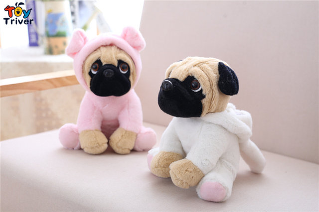 Online Shop 20cm Plush Bulldog Shar Pei Pug Dog Toy Stuffed Animal