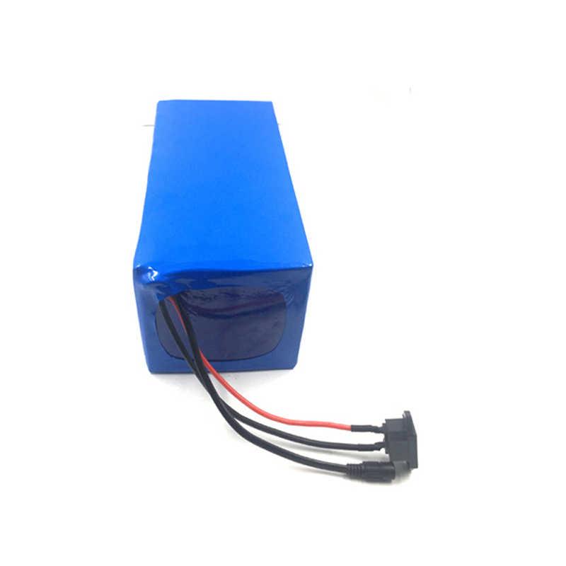 Delen Lange levensduur 48v 20ah LifePO4 batterij pack voor elektrische auto met BMS met BMS en 5A charger