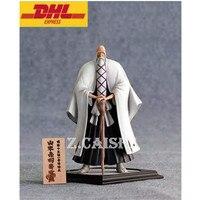 23CM Statue BLEACH Soul Society Bust Yamamoto Genryuusai Shigekuni Full Length Portrait GK Action Figure Toy BOX H52