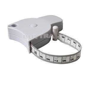 1Pc Accurate Fitness Caliper Measuring Body Tape Measure Classic Auto Retract Measuring Tape New