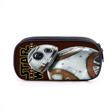 Star War Storm Trooper Boy Girl Cartoon Pencil Case Bag School Pouches Children Student Pen Bag Kids Purse Wallet стоимость