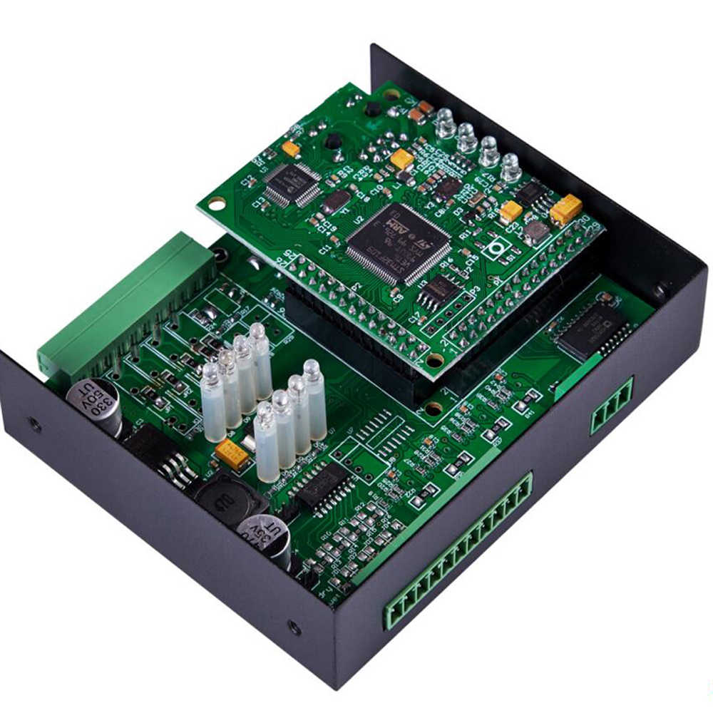 Ethernet Modbus TCP Server 4 Digital Outputs RJ45 RS485 Modbus RTU/ASCII Master can extend I/O modules M220T