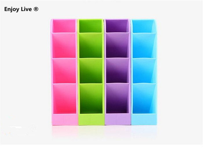 4 colors multifunction plastic desktop and drawer storage box for cosmetic makeup socks kitchen tableware office cheap office drawers