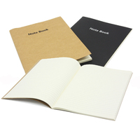 Free Shipping Simple Vintage A4 Notebook Notepad Office Stationery Drawing Present